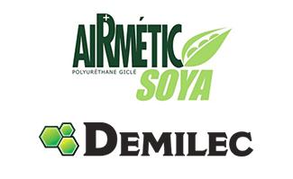 Airmétic Soya et Demilec, des solutions d'isolation écoresponsables.